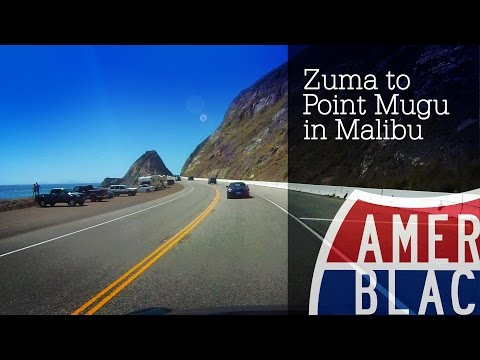 Drive Time - Zuma to Point Mugu - Pacific Coast Highway - Malibu