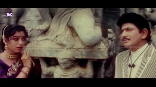 Edo Manasu Paddanu Video Song || Amma Donga Movie || Krishna, Soundharya, Aamani, Indraja