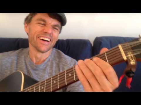 AC/DC - Back in Black - Easy Acoustic Guitar Lesson - in 2.5 minutes!