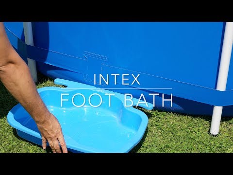 Intex foot bath