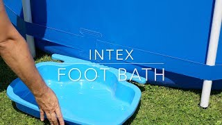 Intex foot bath
