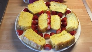 Lemon Drizzle Cake | Slimming World | Make It Mondays