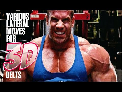 VARIOUS LATERAL RAISES FOR ALL HEADS TO CREATE 3D DELTS-WHICH IS BETTER? MACHINE OR FREE WEIGHTS?