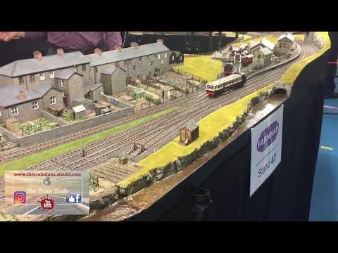 Model Train Show Farnham 2017 Day One