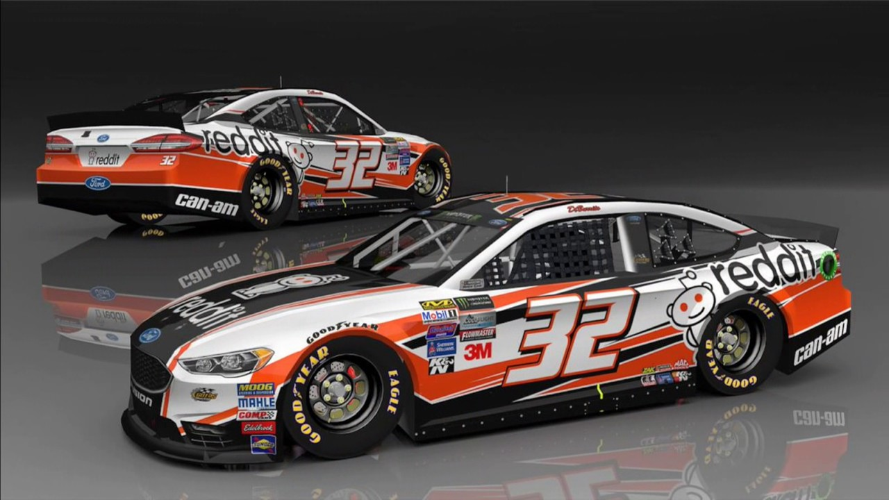 Carl Long Returns! | 2017 NASCAR Paint Schemes #42 - YouTube