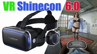 VR Shinecon Built in Headphone