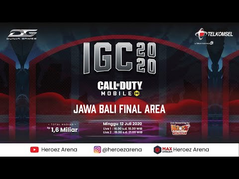 GRAND FINAL Call of Duty Mobile IGC 2020 - Area 3 [Jateng DIY - Jatim - Bali Nusa tenggara] - 12 Jul from YouTube · Duration:  4 hours 58 minutes 14 seconds