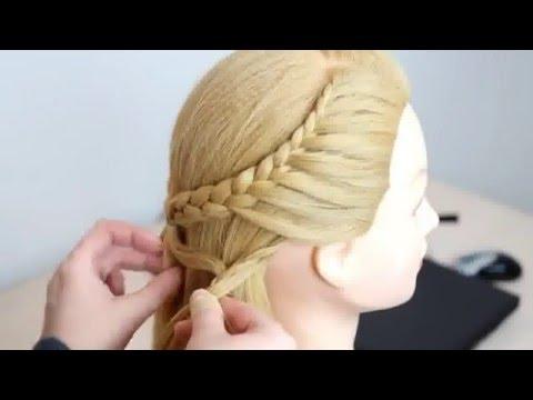 Einfache Anleitung Haar Geflochten Frisuren Für Lange Haare Zopf