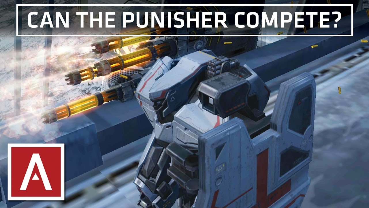War Robots [WR] - Punisher Gameplay In COMPETITIVE Play ...