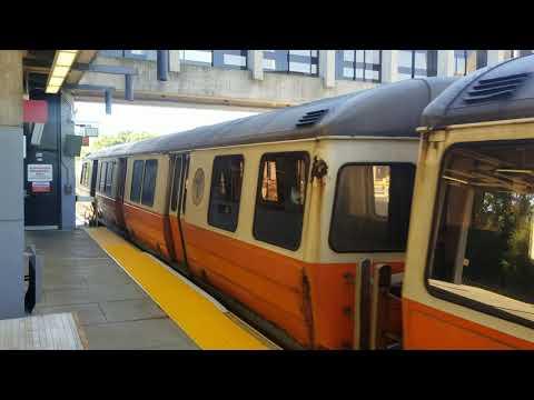 MBTA Orange Line at Wellington Station