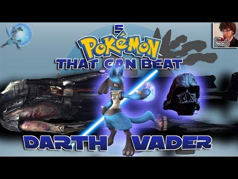 5 Pokémon That Can Beat Darth Vader Feat. The Pokemon Professor