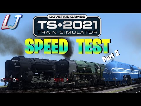 Train Simulator 2021 - Speed Test #2 |