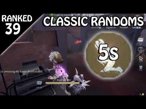 Randoms = TERROR SHOCK - Rank Match #39 (Identity V)