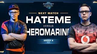 HeroMarine vs Hateme TvZ - Ro16 Group B Decider - WCS Winter Europe