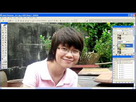 Hướng dẫn làm mờ background cho ảnh (Lens Blur) Photoshop