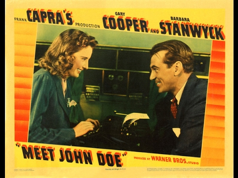 Meet John Doe / L'Homme de la rue (1941) (with...
