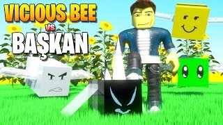 💥 Vicious Bee vs Başkan! 💥 | Bee Swarm Simulator | Roblox Türkçe