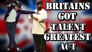 Repeat youtube video Britains Got Talent - Suleman Mirza MICHAEL JACKSON Tribute (ALL performances)
