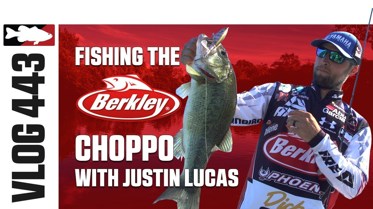 416619d54e0d8 Justin Lucas Fishing the Berkley Choppo on Lake X in Kentucky – Tackle  Warehouse VLOG  443
