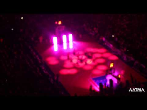 Bollywood Dance Performance at NBA Halftime by AATMA Performing Arts