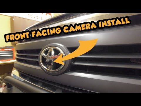 How To Install A Front/Rear Anytime Camera & Dash Kit | Toyota Tundra