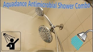 Aquadance 30 Setting Antimicrobial Showerhead Combo Review