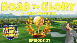 Golf Clash LIVESTREAM, ROAD to GLORY 2.0 - Lets start the climb to max!