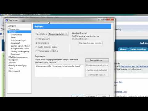 SeaMonkey 2.3 gebaseerd op Firefox 6