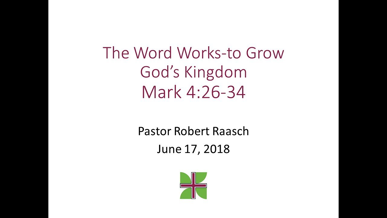 The Word Works–to Grow God's Kingdom – Mount Olive Lutheran Church