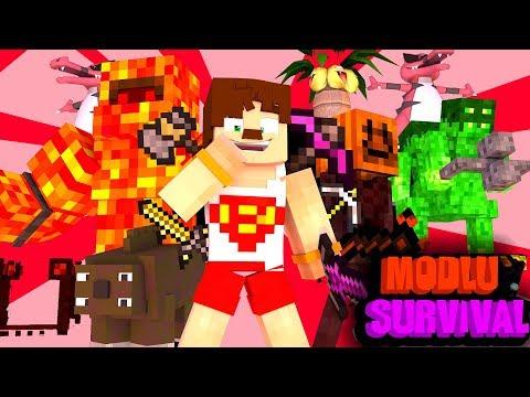 PANDORANIN KUTUSU AÇILIYOR #1 Minecraft Modlu Survival (PandoraCraft) thumbnail