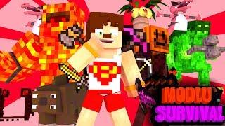 PANDORANIN KUTUSU AÇILIYOR #1 Minecraft Modlu Survival (PandoraCraft)