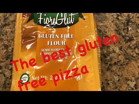 The best gluten free pizza dough—Caputo Fiore Glut