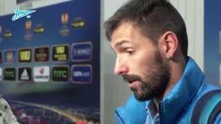 «Зенит-ТВ»: Данни ответил на вопросы о матче с «Торино» на русском