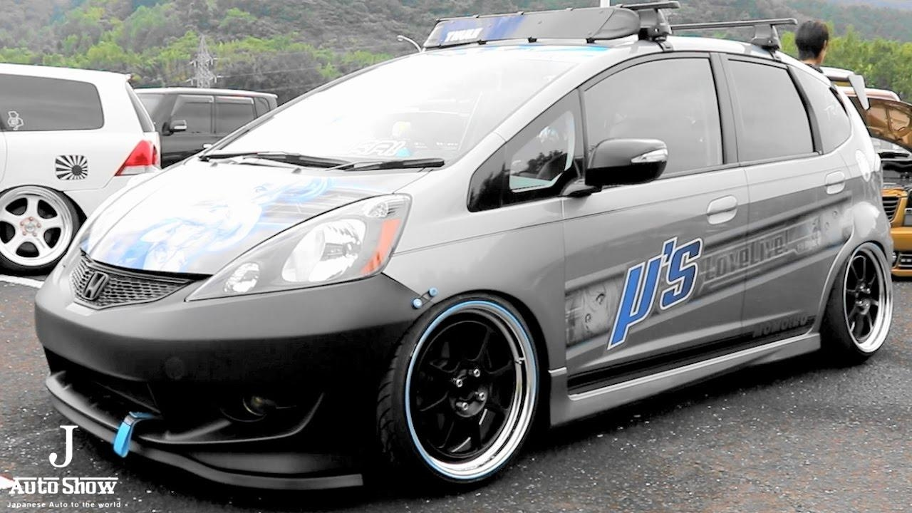 (HD)HONDA FIT JAZZ modified - Zeal CUP 2016 DRESS UP CAR SHOW in JAPAN - YouTube