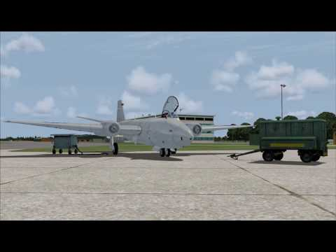 Virtual Cold War Jets collection presents...........Canberra PR9 tests