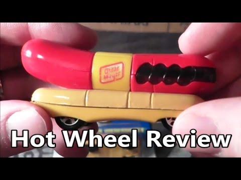 Hot Wheels Oscar Mayer Wienermobile Toy Review - The No Swear Gamer