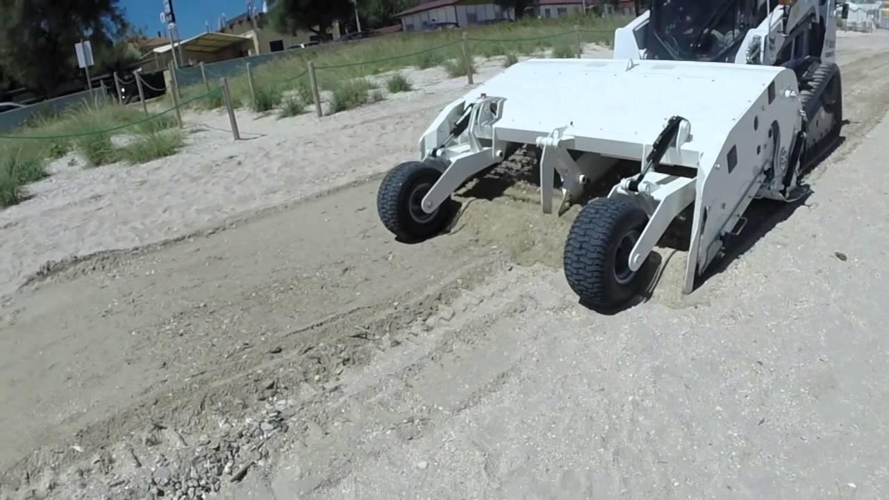 Beach Master Skid Steer Attachment