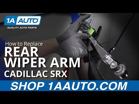 How to Replace Rear Wiper Arm 10-16 Cadillac SRX
