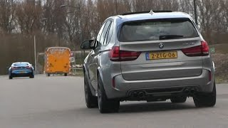 2015 BMW X5M | Accelerations + REVS | LOVELY Sound!