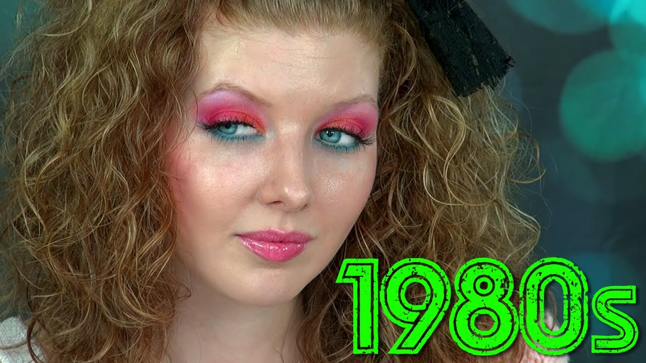 historically accurate 1980s makeup