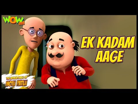 Cartoons | New Episodes Of Motu Patlu | Ek Kadam Aage | Wow Kidz thumbnail