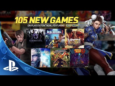 All 105 Games Added to PlayStation Now Today