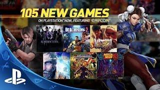 Sony تضيف أكثر من 100 لعبة جديدة إلى خدمة Playstation Now