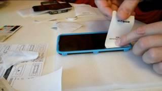 iPhone 7 Black наклеиваю закаленное стекло стекло ESR (с рамкой для установки в комплекте)(Устанавливаю стекло на iPhone 7 black. Чехол ROCK для черного iPhone 7. Айфон 7 черный стекло и чехол с AliExpress. Возврат..., 2016-12-06T16:36:33.000Z)