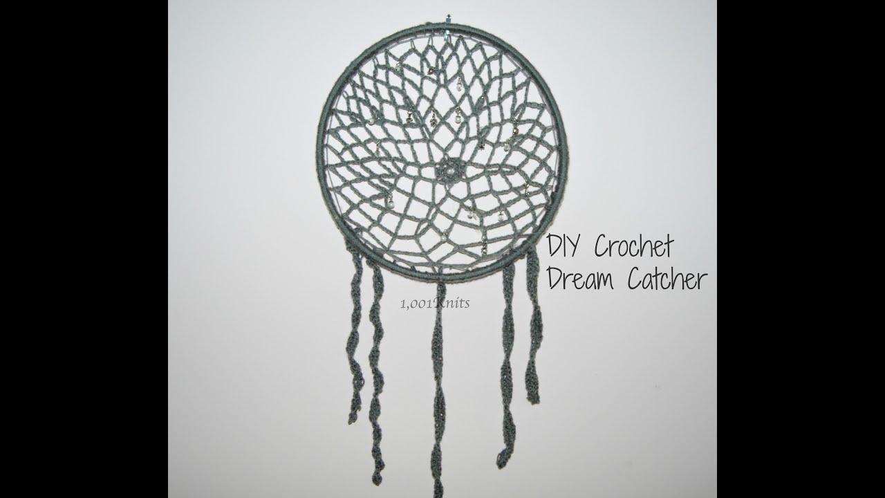 Crochet Dreamcatcher Diy Youtube