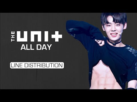 The Unit B (더유닛 B) - All Day [Line Distribution]