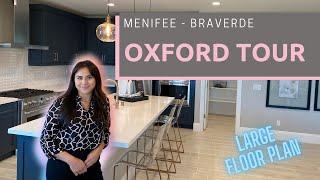 Menifee CA New Commขnity   Liberty at BRAVERDE   New Construction Tour   OXFORD MODEL   2,610sqft