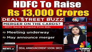 IDFC & CAPITAL FIRST Merger on the Cards? | CNBC TV18