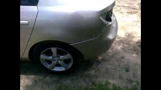 Снимаем задний бампер мазда 3.Remove the rear bumper Mazda 3.