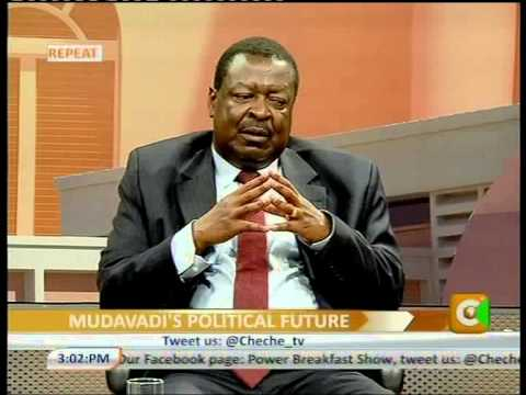 Cheche Interview with Musalia Mudavadi –Party Leader, UDF Part 3